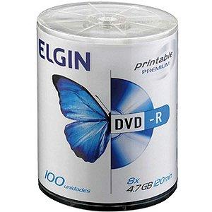 Dvd Gravavel Printable Dvd-R 4.7Gb/120Min/8X Elgin