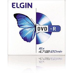 Dvd Gravavel Dvd-R 4,7Gb/120Min/16X Envelop Elgin