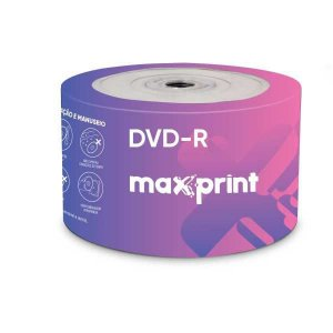 Dvd Gravavel Dvd-R 4.7Gb/120 Min/16X Maxprint