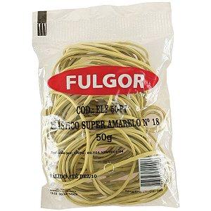 Elástico Amarelo Látex Super Especial N.18 50Gr Fulgor