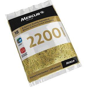 Elastico Amarelo N.18 Super 1 Kilo Puro 2200Pec Mercur