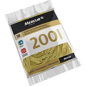 Elastico Amarelo N.18 Super 100Gr. 200Pecas Mercur