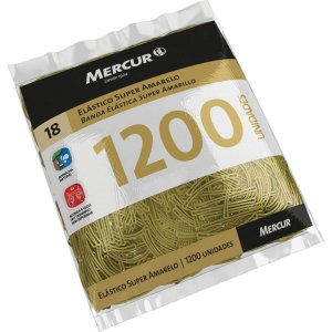 Elastico Amarelo N.18 Super 1200Pcs Mercur