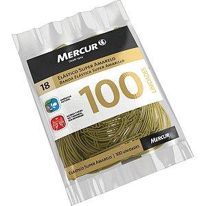 Elastico Amarelo N.18 Super Pct.c/50G 100Pecas Mercur