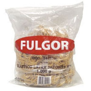 Elastico Latex Japones N.8 Pct/ 1 Kilo Fulgor