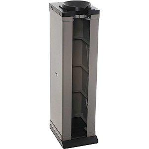 Embalador De Guarda-Chuva Plástico Abs Automatico Cinza Unipack