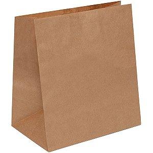 Embalagem Para Alimentos Saco Kraft Delivery G34X31X19C Cromus