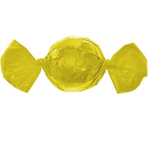 Embalagem Para Trufa/cone 15X16Cm. Amarelo Cromus