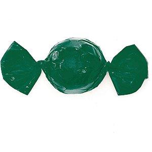 Embalagem Para Trufa/cone 15X16Cm. Verde Cromus