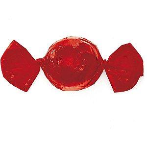 Embalagem Para Trufa/cone 15X16Cm. Vermelho Cromus