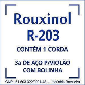 Encordoamento Aço Encapada 3Sol (R20) C/bol Rouxinol