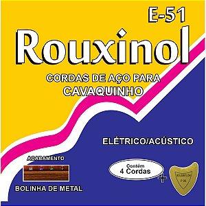 Encordoamento P/cavaquinho Eletrico/acustico Rouxinol