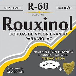Encordoamento P/violao Nylon Bc. Md.tensao Rouxinol