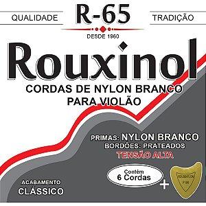 Encordoamento P/violao Nylon Br/prat. Alta T Rouxinol