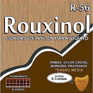 Encordoamento P/violao Nylon Cr/prateada Rouxinol