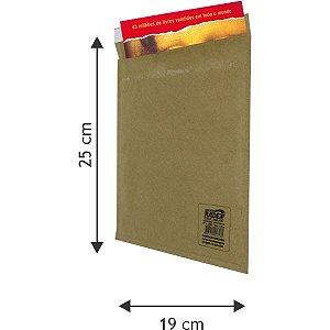 Envelope Bolha Postbolha Papel Kraft N6 19X25 Radex