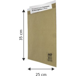 Envelope Bolha Postbolha Papel Kraft N8 25X35 Radex