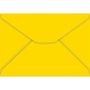 Envelope Carta Colorido 114X162Mm Amarelo 85G Foroni