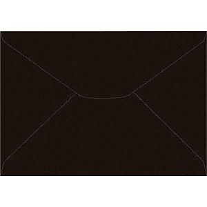 Envelope Carta Colorido 114X162Mm Preto 80G Foroni