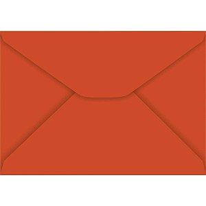 Envelope Carta Colorido 114X162Mm Vermelho 85G Foroni