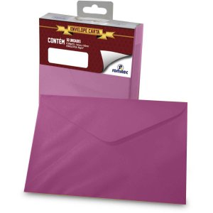 Envelope Carta Colorido Pink 80G 114X162Mm Romitec