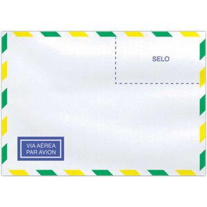 Envelope Comercial 114X162 63Grs. C/rpc Aereo Scrity