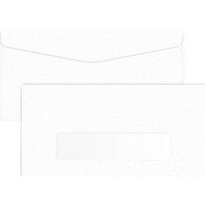 Envelope Ofício 114X229 75G Branco Com Janela Foroni