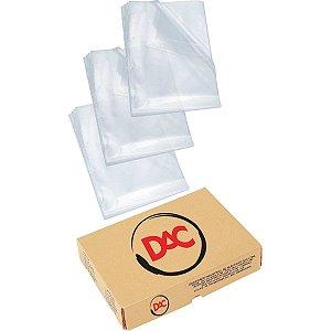 Envelope Plástico Ofício S/furos Medio 0,10Mm Dac