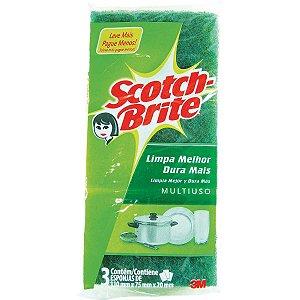 Esponja Para Limpeza Scotch-Brite Wave 3M