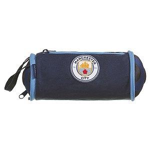 Estojo Tecido Manchester City 1Ziper Dmw