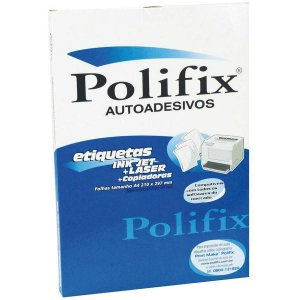 Etiqueta A4 A4 42,0 X 19,8 Mm 5 Carreira Polifix