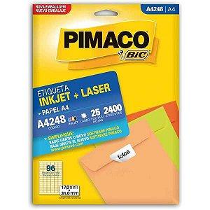 Etiqueta A4 A4248 25 Fls 17,0 X 31,0 Mm Pimaco