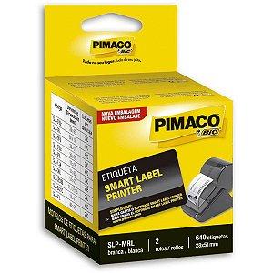 Etiqueta Adesiva Slp C/640 Etiq. 28Mmx51Mm Pimaco
