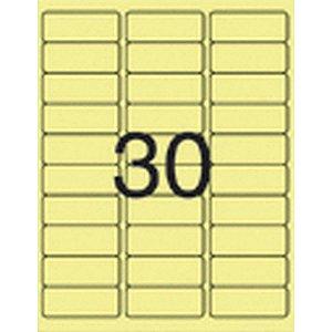 Etiqueta Carta 5580A Flu Am 05 Fls 25,4X66,7 Pimaco