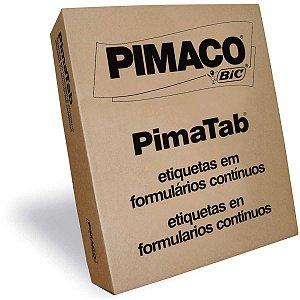 Etiqueta Matricial 81364C Pimatab 81 X 36 Mm Pimaco