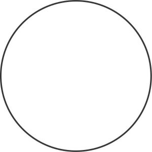 Etiqueta Redonda Branca 15Mm. C/210 Etiquetas Grespan