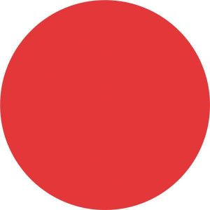 Etiqueta Redonda Vermelha 15Mm. C/210 Etiquetas Grespan