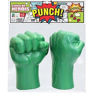 Fantasia Acessório Herois Luva De Boxe 40Cm Leplastic