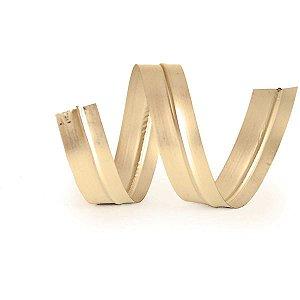 Fecho Metalico Dourado 4Mmx11Cm. Cromus