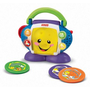 Fisher-Price Apr. Br. Cd Player Mattel