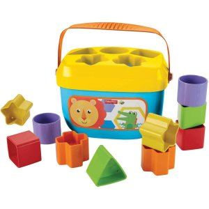 Fisher-Price Novo Balde Primeiros Blocos Mattel