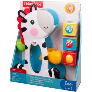 Fisher-Price Zebra Blocos Surpresa Mattel