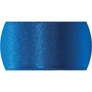 Fita De Cetim 07Mm 10M. Azul Royal 214 Fitas Progresso