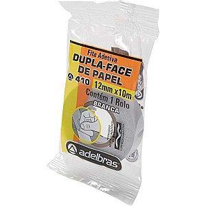 Fita Dupla Face Flow-Pack 12Mmx10Mts. Adelbras