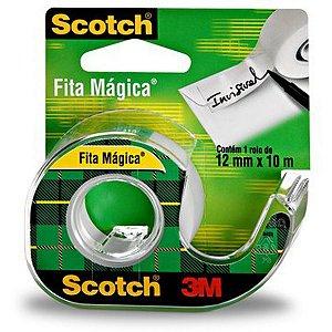 Fita Mágica Scotch 810 12Mmx10M.c/aparelho 3M