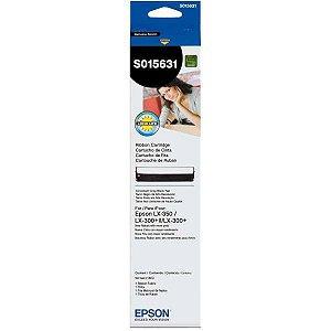 Fita Original Para Impressora Epson Preta Lx350 / Lx300 Epson