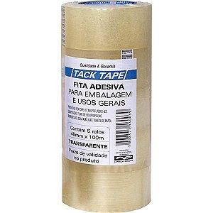 Fita Para Empacotamento Tack Tape Pp 48X100M Transpare Amazon Tape