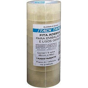 Fita Para Empacotamento Tack Tape Pp 48X45M Transparen Amazon Tape