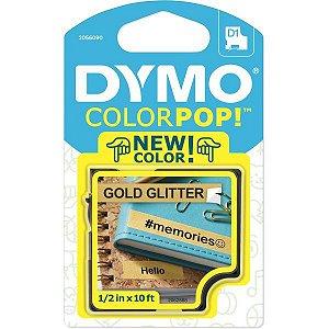 Fita Para Rotulador Eletronico 12Mmx3Mts Poli Glitter Dou/pr Imex