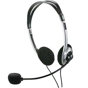 Fone De Ouvido Com Microfone Headphone Preto Multilaser